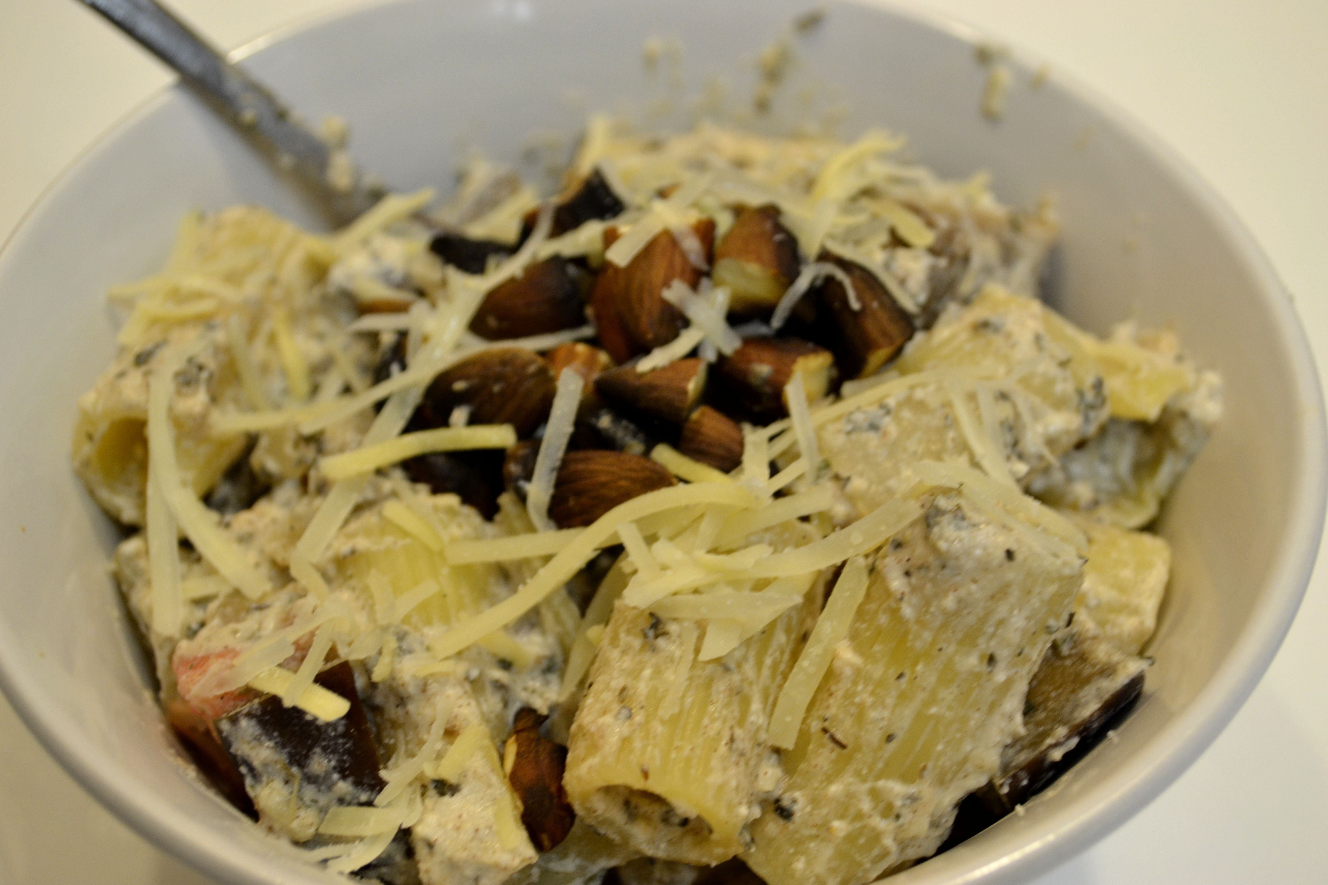 how to cook eggplant for pasta